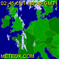 European rainradar